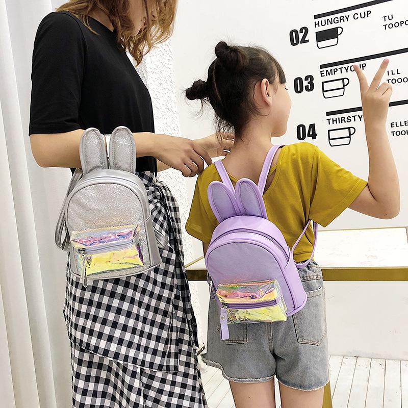 2019 New Style CHILDREN'S Bag Cartoon Cute Hot Selling Bunny Children Backpack Schoolbag For Elementary School Students