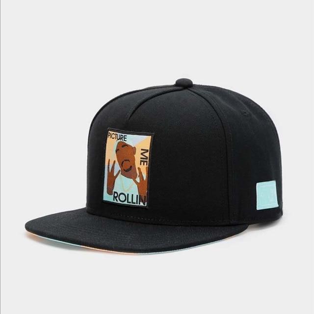 2020 nowa dostawa obraz mnie rollin nadruk kreskówkowy czapka z daszkiem hip hop czapki czapki dla mężczyzn czapka z daszkiem trump hat męskie i