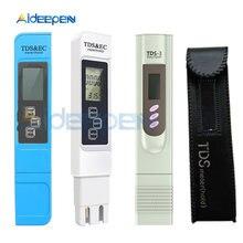 TDS EC Meter TDS-3 Temperatur Tester Stift 3 In1 Funktion Leitfähigkeit Wasser Qualität Messung Werkzeug TDS & EC Tester 0-9990ppm