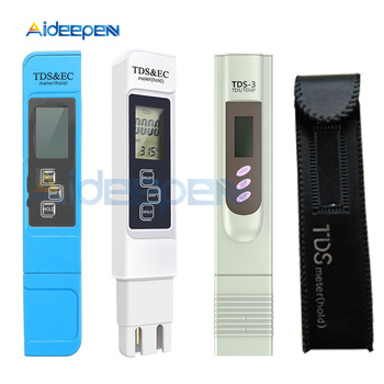 TDS EC Meter TDS-3 Temperature Tester pen 3 In1 Function Conductivity Water Quality Measurement Tool TDS&EC Tester 0-9990ppm