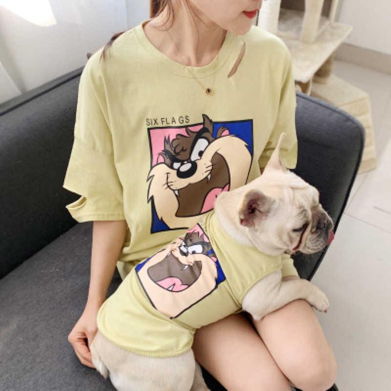 Linda camisa de mascota disfraz de perro creativo Sudadera con capucha suéter de dibujos animados de mascotas Mono para perros pequeños medianos cachorro gato ropa de cachorro caliente