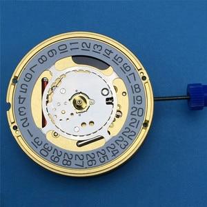 Image 4 - חדש שוויצרי עבור ETA F06.111 שעון קוורץ תנועת תאריך באופן 3 תאריך באופן 6 שעון תיקון חלקי עם סוללה והתאמת גזע