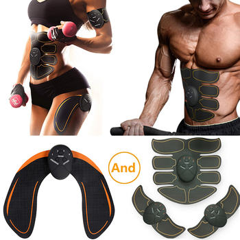 Muscle Stimulator ABS Hip Trainer EMS Abdominal Belt Electrostimulator Muscular Exercise Home Gym Equipment Electrostimulation electric training machine abdominal arm muscle trainer usb rechargeable electrostimulator muscular exercise gym equipment home