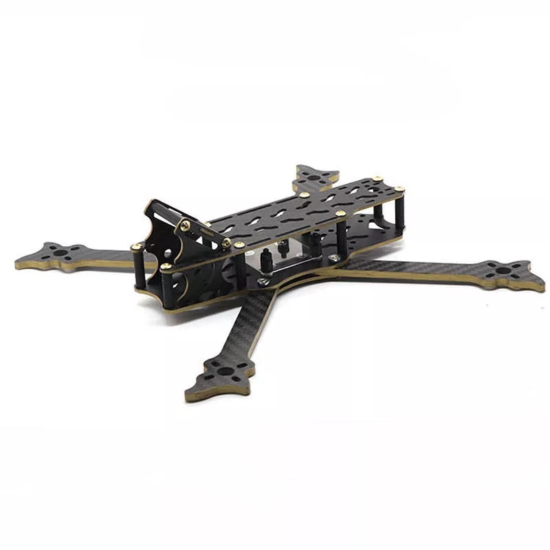 New pattern HSKRC VO235 235mm Wheelbase 5 Inch 4mm Arm Carbon Fiber Frame Kit for RC Drone FPV Racing image