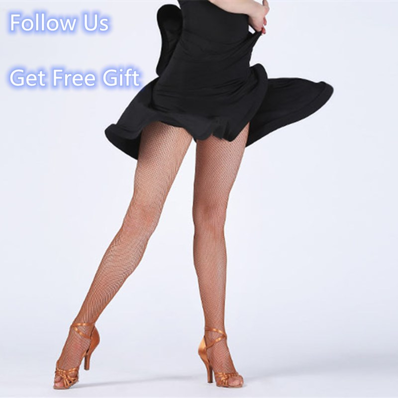 2020 Adult Latin Dance Dress Skirt Sexy Fantasy High Waist Fishbone Dress For Women Performamnce Latin Dress Black Dance Skirt