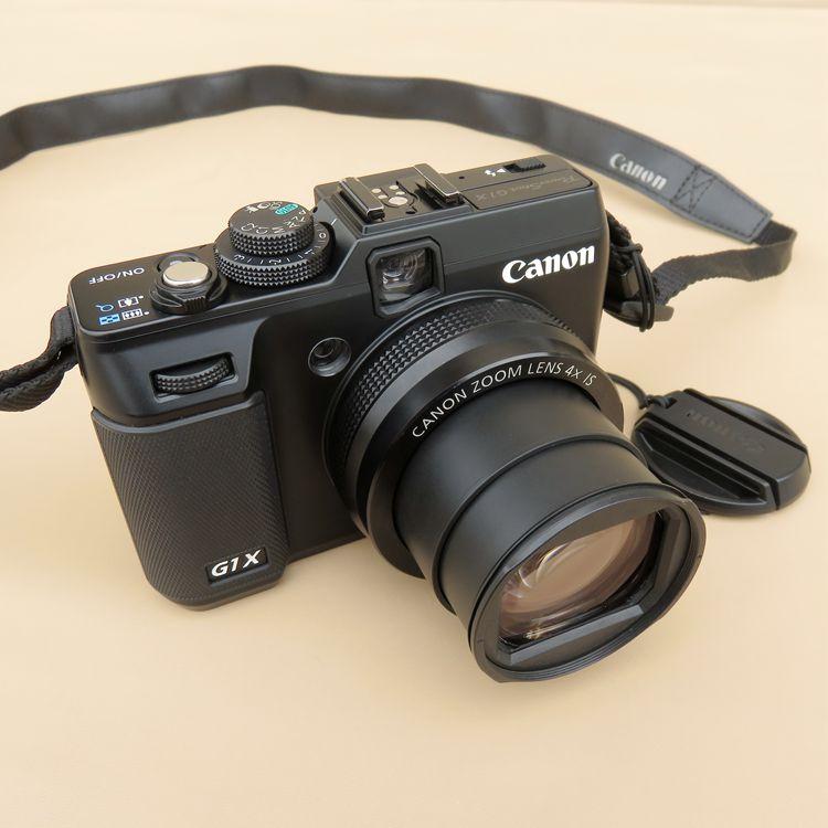 중고 Canon PowerShot G1 X 14.3 MP CMOS 디지털 카메라