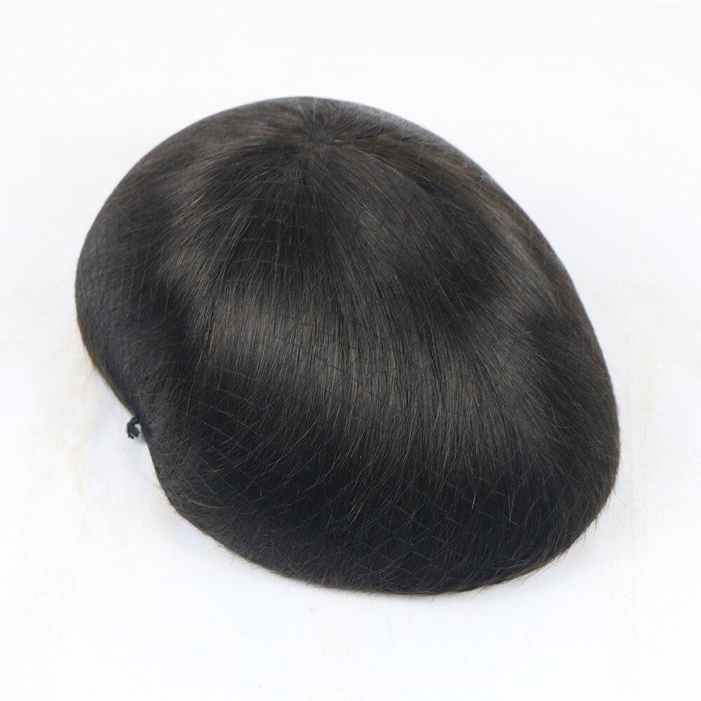 straight hair toupee