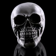 Resin Lifelike Human Bones Halloween Ornaments Skeleton Christmas Prop Skull Figurine For Horror Party Decoration