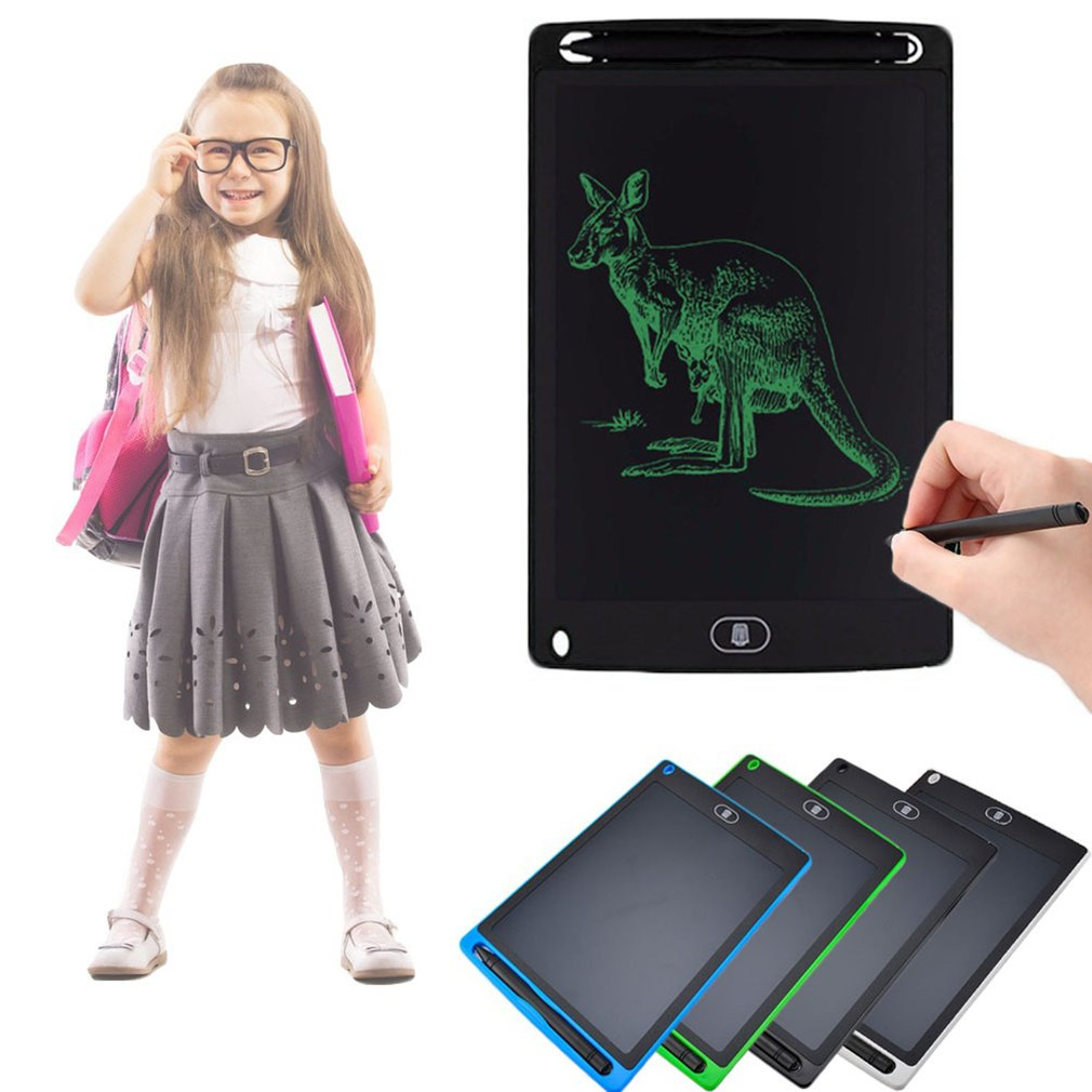8.5 Inch Writing Drawing Tablet Notepad Digital LCD Graphic Board Handwriting Bulletin Board For Education Business 2020 New