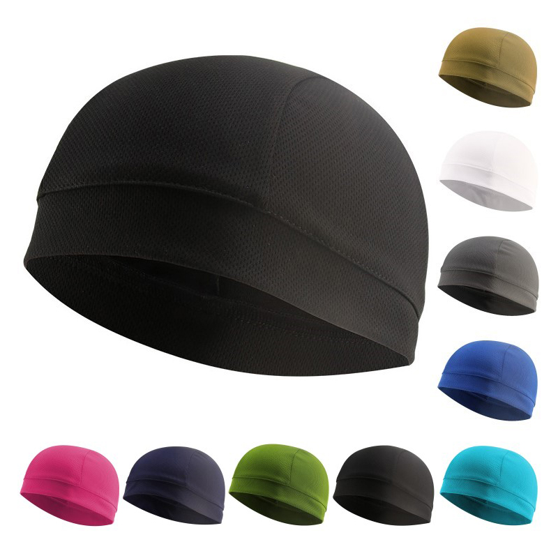 Men Women Outdoor Running Skiing Cap Outdoor Sports Mesh Caps Beanie Bike Cycling Riding Jogging Windproof Hat Helmet Liner Caps