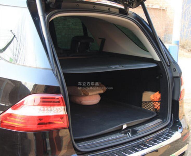 ML Car Rear Trunk Security Shield Cargo Screen Shield Shade Cover For Mercedes-BENZ ML350 ML320 ML400 2006 2007 2008 2009