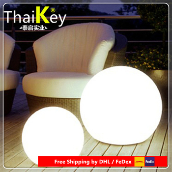 D25cm LED Globe/LED Sphere/LED Table Lamps Pool Ball for Christmas Decoration free shipping