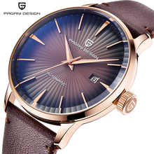PAGANI Design 2770 Men's Watches Classic Mechanical Leather Watch
