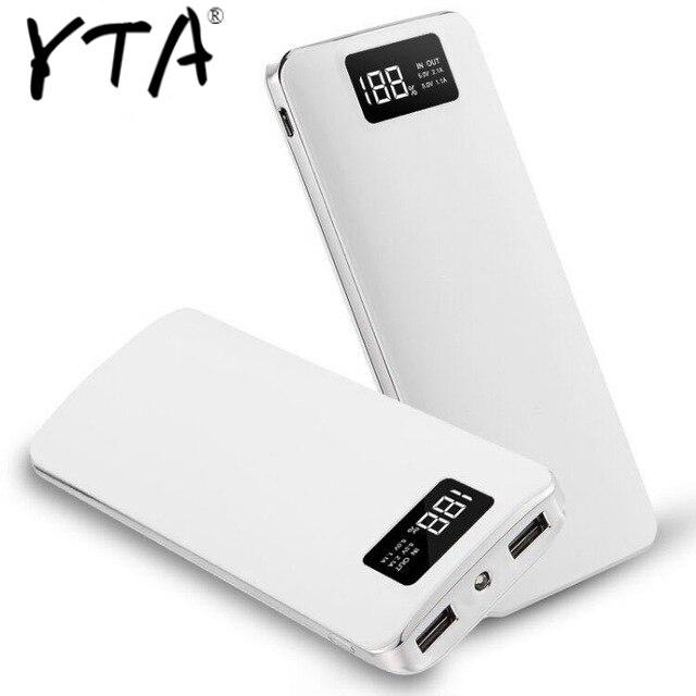 NEW Power Bank 30000mAh For Xiaomi Mi 2 USB PowerBank Portable Charger External Battery Poverbank For IPhone7 8 X Xiaomi Huawei