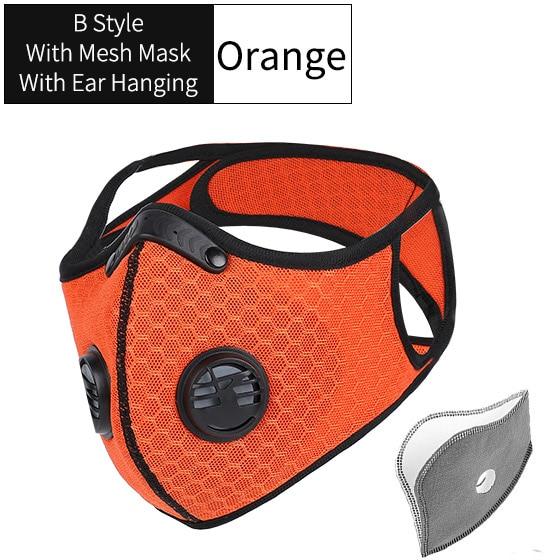 B Style Mesh Orange