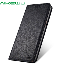 Tree texture leather Case for Huawei Honor 8  Flip Cover Honor8 Phone Wallet