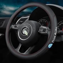 Steering-Wheel-Cover 38cm-Accessories Beetle Vw Phaeton Volkswagen Polo Passat Car Golf