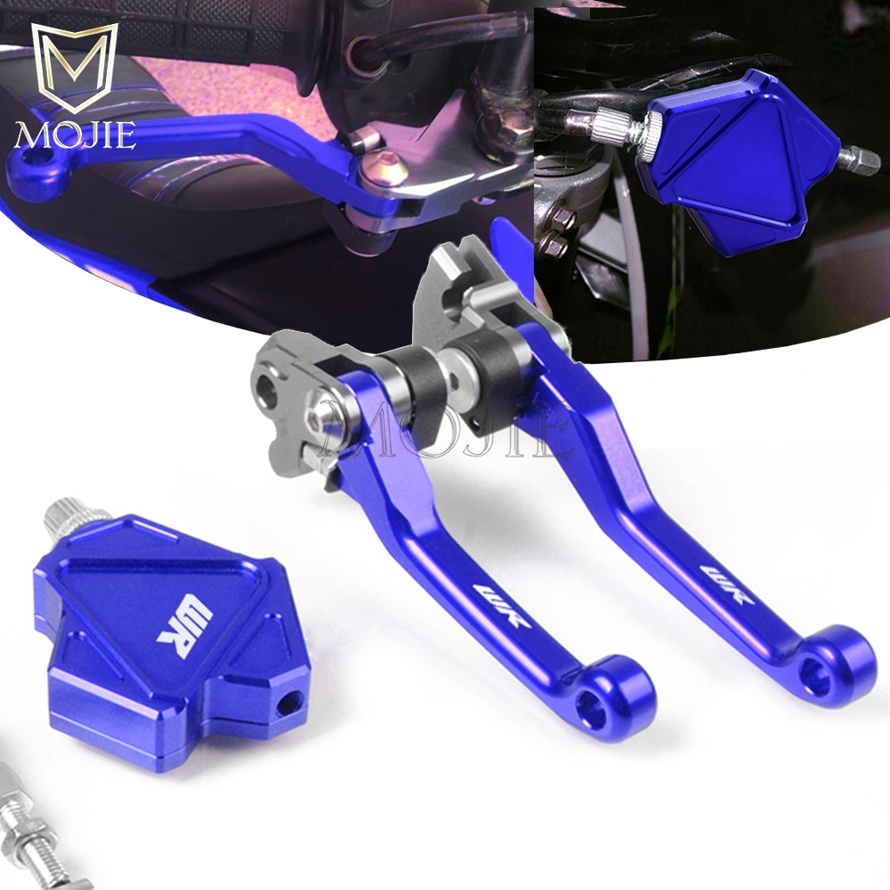 For YAMAHA WR200 WR250F WR250R/X WR250Z WR450F WR 200 250 450 F R/X Z CNC Pivot Brake Stunt Clutch Lever Easy Pull Cable System Levers  Ropes & Cables     - title=