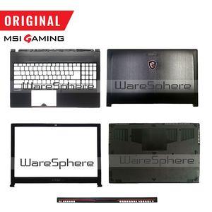 Image 1 - Yeni orijinal MSI GS63 GS63VR LCD arka kapak çerçeve Palmrest alt baz kılıf 3076K3D211 3076K3D212 3076K2A215 3076K1B213