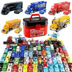 Disney Pixar Тачки 2 3 игрушки Молния Маккуин Джексон шторм Мак Uncle Truck 1:55 литья под давлением модель автомобиля игрушка детский подарок на день рож...