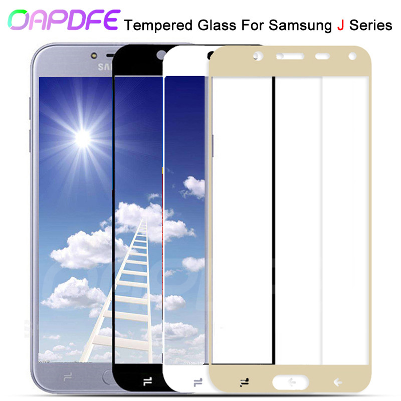 9D Защитное стекло для samsung Galaxy J3 J5 J7 2016 2017 полное покрытие J2 J4 J6 J8 2018 закаленное защитное стекло для экрана|Защитные стёкла и плёнки|   | АлиЭкспресс