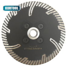 цена на Wet Turbo Diamond Saw Blade For Porcelain Tile Ceramic Dry Cutting Aggressive Disc Marble Granite Stone Saw Blade 115mm X M14