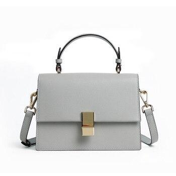 2019 Classic Elegant Shoulder Women Bags High Sense Design Leather Small handbag Casual Wild White Commuter Business Bag