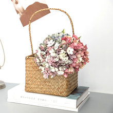 Silk Texture Fake Flower Artificial Wedding Decoration Brazil Hydrangea Series Bouquet Nordic High-grade Home