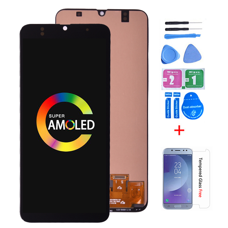 Super Amoled For <font><b>Samsung</b></font> GALAXY <font><b>A30</b></font> LCD <font><b>Display</b></font> with Touch Screen Digitizer Assembly A305/DS A305FN A305G A305GN A305YN LCD image