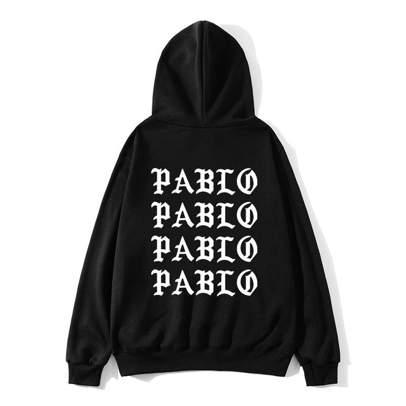 2019 New Pullover Casual Male Hoodies I Feel Like Paul Pablo Kanye  Print Cotton Hip Hop Hoodies Streetwear Casual Hoodies Men