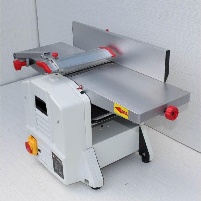 Elektryczny 8 ''blat ławki przemysłowe 1500W grubość drewna strugarka stolarka/strugarka Combo maszyna do obróbki drewna