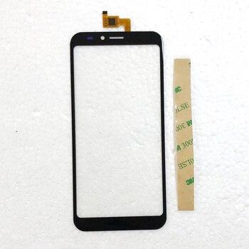 Перейти на Алиэкспресс и купить Тест 5,5 дюймов дигитайзер Сенсорное стекло для INOI 5i / 5i Lite телефон сенсорная панель Сенсорное стекло Переднее стекло бесплатная 3m наклейка