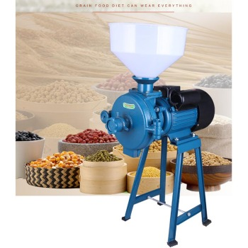 High Efficiency Grinding Machine Commercial Cereals Mill Multi-purpose Ultra-fine Pulverizer 150 spice grinding machines commercial food grinder universal chemical pulverizer