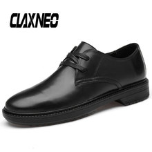 Buy CLAXNEO Man Derby Shoes Genuine Leather Dress Shoe Male Formal Footwear Oxfords Men's Wedding Shoe Big Size directly from merchant!