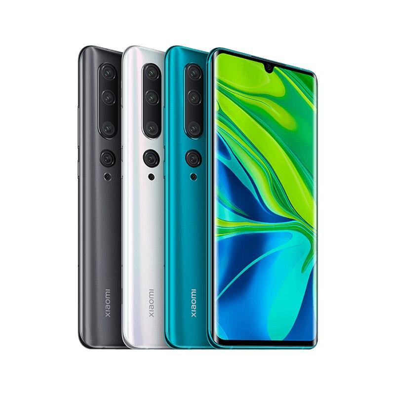 "Global Version Xiaomi Mi Note 10 6GB 128GB 108MP Pentaกล้องสมาร์ทโฟนSnapdragon 730G 5260mAh 30W 6.47 ""AMOLEDหน้าจอ"