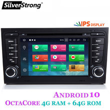 Silverstrong 8 Core Android10.0 4G 64G 2Din Auto Dvd Voor Audi A4 A3 RS3 RS4 2002-2007 auto Multimedia Voor Audi 2din Wifi(Hong Kong,China)