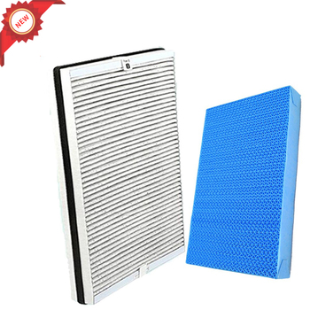 1pc 4158 Activated Carbon HEPA Filter+1 pc AC4155 Air humidifier filter for Philips AC4080 AC4081 Purifier Air Purifier Parts 1 set 2pcs air purifier filter hepa activated carbon filter for sharp kc c70e replacement parts