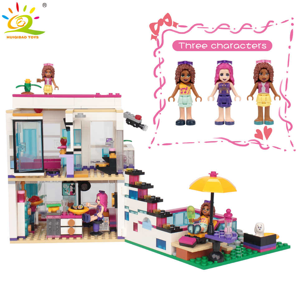 760PCS-Livi/'s-House-Building-Pop-Star-Friends-41135-Blocks-Toy-Bricks-Set-kids