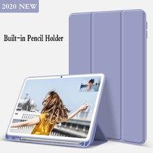 Com suporte de lápis silicone capa para huawei matepad 10.4 caso coldre para huawei honor v6 10.4 caso inteligente funda