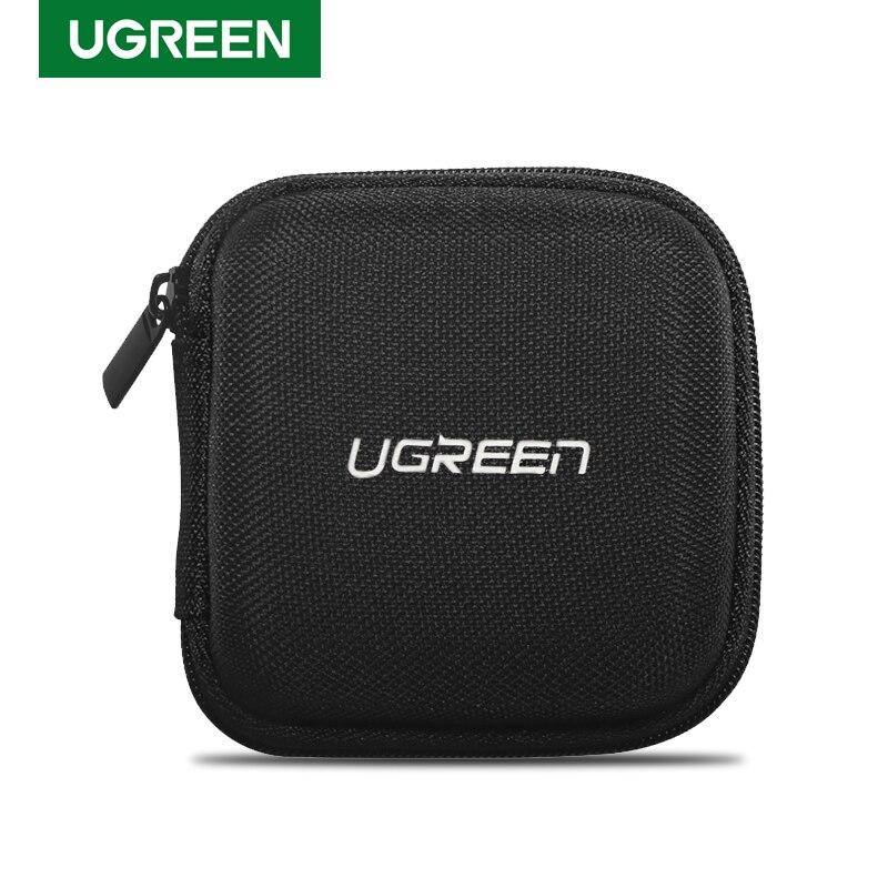 Ugreen Earphone Case Hard Headphone Bag For Airpods Earpods Sennheiser Ear Pads Wireless Bluetooth Earphone Accessories