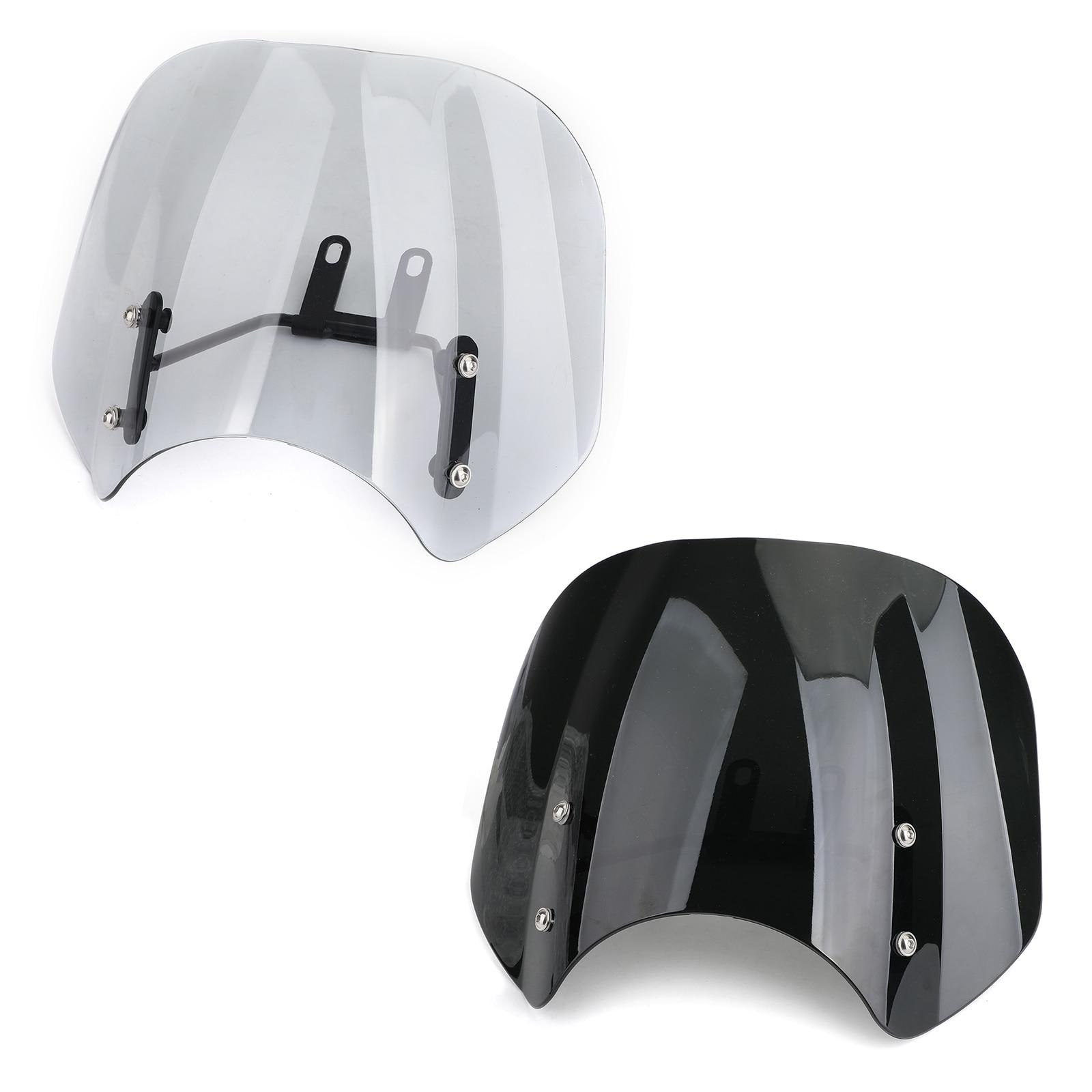Areyourshop For Honda CMX500 Rebel CMX 500 Rebel500 2018-2019 Motorcycle Windshield Windscreen With Bracket Accessories
