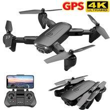 F6 gps zangão 4k câmera hd fpv drones com siga-me 5g wifi fluxo óptico dobrável rc quadcopter profissional dron