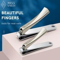 Miss Sally Set di tagliaunghie Set di tagliaunghie e tagliaunghie in acciaio inossidabile Premium con lima per unghie per uomo donna