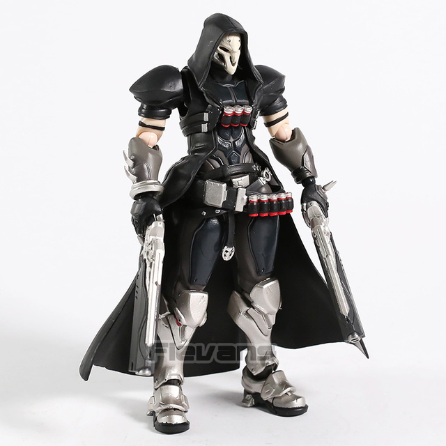 Hot Game OW Reaper Figma 393 PVC Action Figure Collectible Model Toy 2