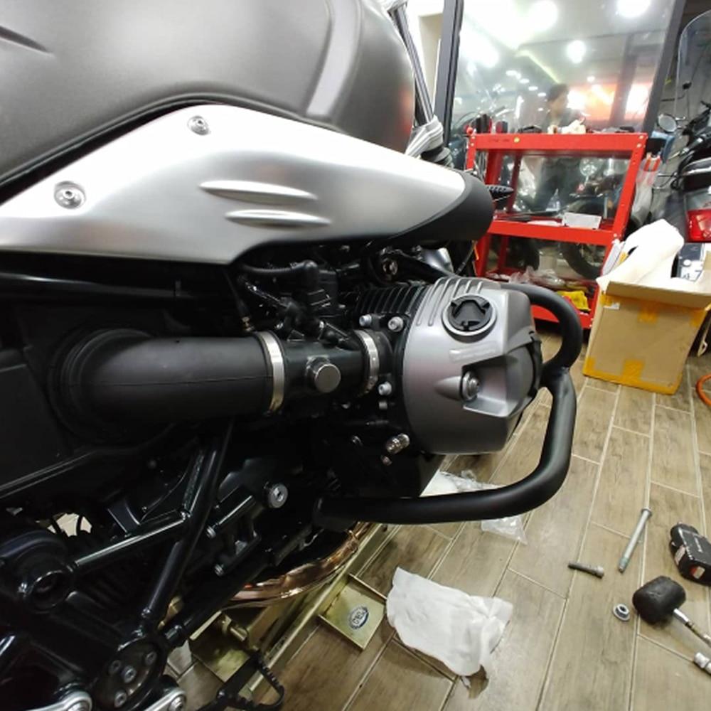 For BMW R NINE T Scrambler R NINET R9T Racer RNINE T 2014 2015 2016 2017 2018  Motorcycle Refit Tank Protection Guard Crash Bars