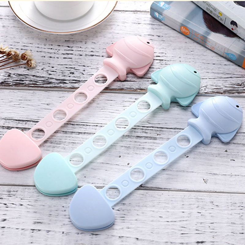 Multi-function Baby Safety Lock Small Fish Anti-pinch Drawer Lockstitch Boys Girls Hand Security Protection Child Cabinet Locks