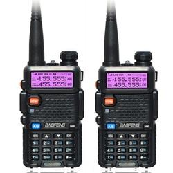 2 Stks/set Baofeng Uv 5R Draagbare Dual Band Vhf Uhf Twee Manier 5W Ham Cb Radio Uv-5r Walkie Talkie communicatie-apparatuur Uv5r