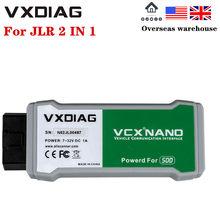 VXDIAG VCX NANO for Land Rover/Jaguar V145 VXDIAG VCX NANO Auto Diagnostic Tool for Almost All Land Rover/Jaguar Update By CD