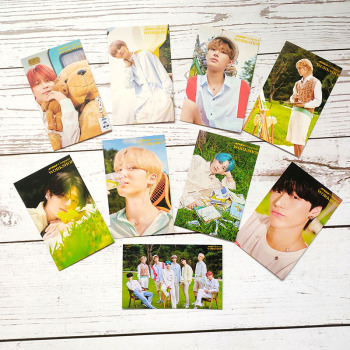 9pcs/set ATEEZ Photocards 2021 SEASON'S GREETINGS