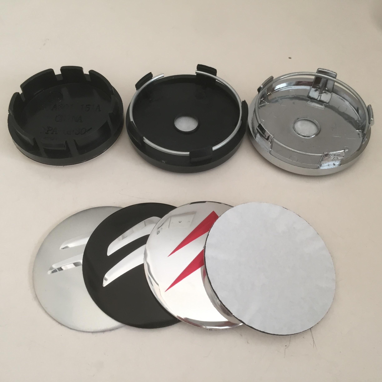 4 шт. 56 мм 60 мм Автомобильная эмблема колпачки на ступицу колеса колпачки для значков наклейка на колесо аксессуары для стайлинга автомобиля
